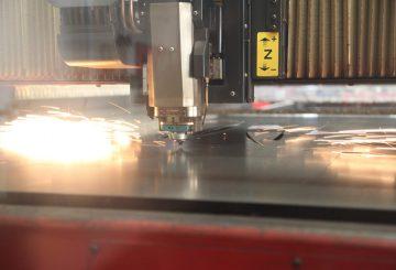 CNC Laser Cutting - Aluminium Signage Letters