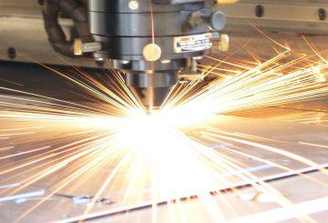 CNC Laser Cutting - Laser Pierce Stainless