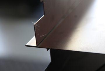 Press Brake Plate Roll - Hem Safety Edge
