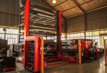 CNC Turret Punching - Material Storage