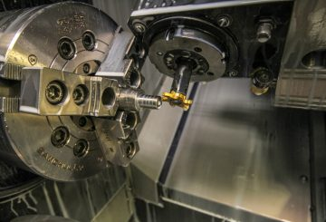 Lathe Machining - Live Tooling Milling