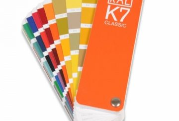 Powder Coat Plate - Standard Colours